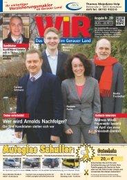 Bürgerforen Geothermie - Das WIR-Magazin im Gerauer Land