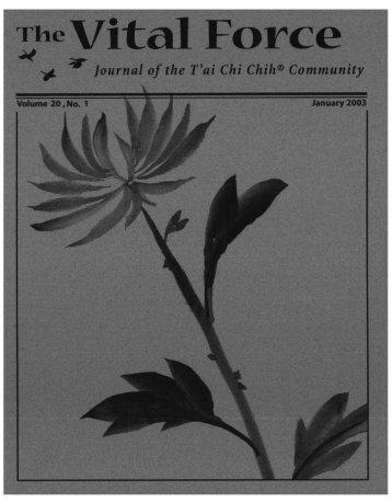 January 2003 - T'ai Chi Chih