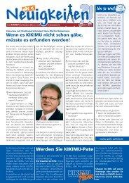 Ausgabe 01/2011 - KIKIMU