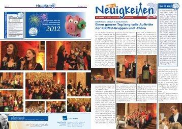 Ausgabe 02/2011 - KIKIMU