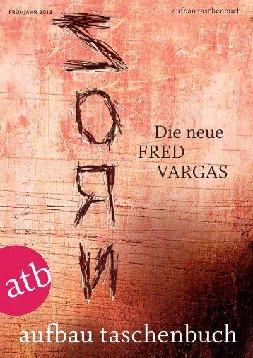 Die neue FRED VARGAS - Aufbau Verlag