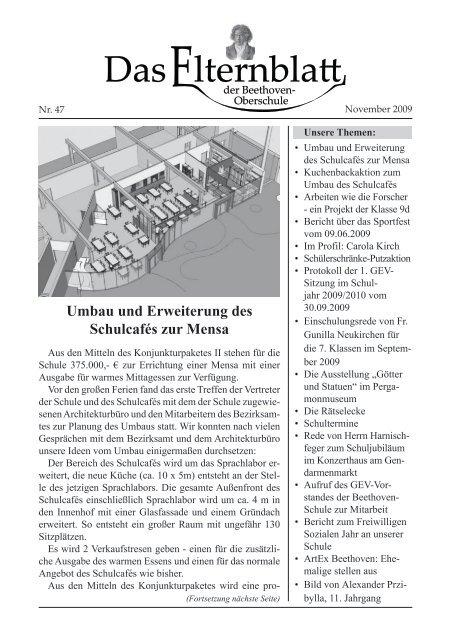 Nr. 47 - November 2009; pdf-Dokument - Beethoven-Schule