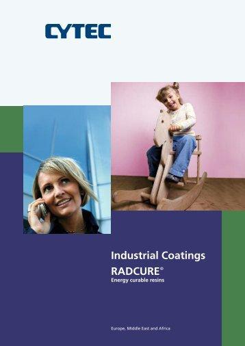 Industrial Coatings - Radcure® Energy Curable - CYTEC Industries