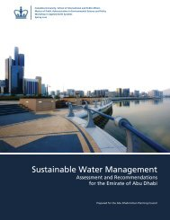 Abu Dhabi Final Report - MPA in Environmental Science and Policy ...