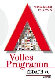 Holzbaukatalog 2012/2013 - DEG Alles für das Dach eG