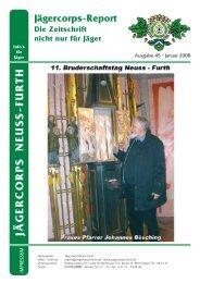 2008 St. Sebastianus Ausgabe - Jägercorps Neuss - Furth 1932