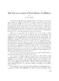 BEB Fagg 1962 Nok Terra-Cottas in West - PanAfrican Association ...