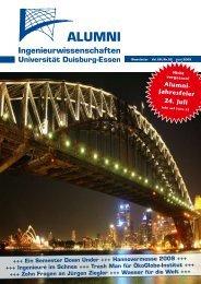 Jahresfeier 24. Juli - Alumni - an der Universität Duisburg-Essen