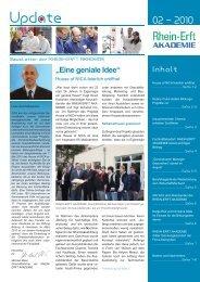 Update 02-2010 - Rhein-Erft Akademie
