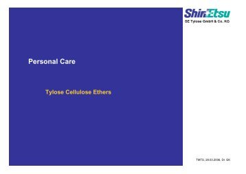 Personal Care - Russo Chemie