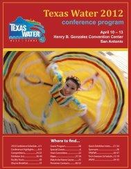 Texas Water 2012 - Texas Water 2013