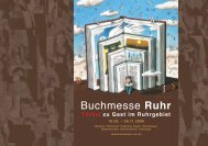 Grusswort - Buchmesse Ruhr