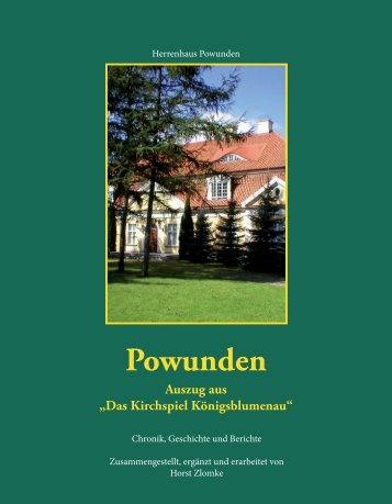 Powunden - Königsblumenau