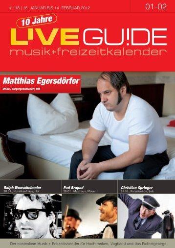 Matthias Egersdörfer - Livegui.de
