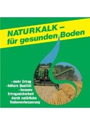 NATURKALK - für gesunden Boden