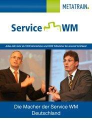 Die Macher der Service WM Deutschland - METATRAIN GmbH