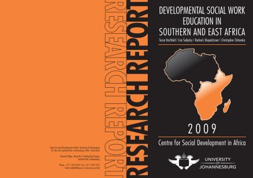 developmental social work education in southern and east africa