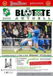 A K T U E L L - VfB Speldorf