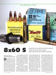 8x60 S - Jagen Weltweit