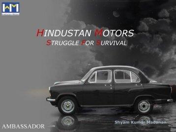 Hindustan Motors -Struggle for Survival (pdf.)