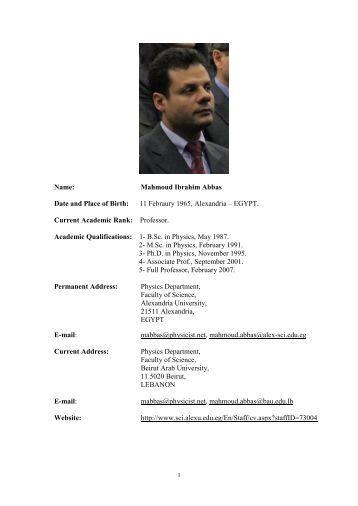 Abbas mahmoud phd thesis