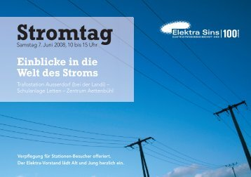 Stromtag - Elektra Sins