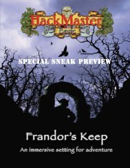 Frandor's Keep Preview - Kenzer & Company