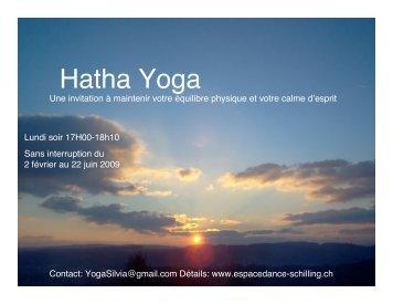 Yoga nur Abend Final - ESPACE DANSE TONIA SCHILLING