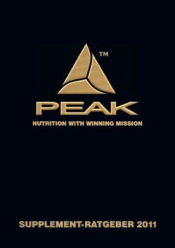 Supplementratgeber - Peak
