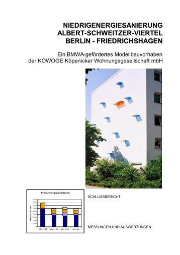 niedrigenergiesanierung albert-schweitzer-viertel berlin