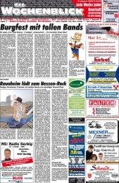 Page 1 Lokales irereinsnacttrichten Geschäftsmitteiiungen Lokales ...