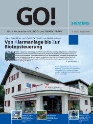 Siemens GO Pressebericht - Elektro Fröhli AG