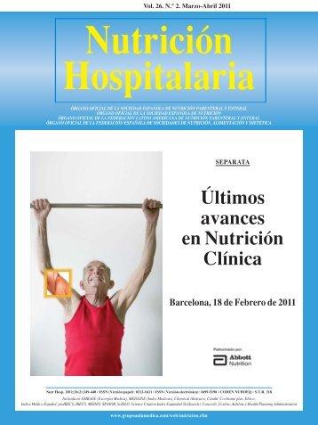 Nutricion hospitalaria articulos pdf to excel