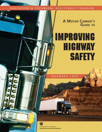 Fmcsa organizational chart federal motor carrier safety for What is the federal motor carrier safety regulations