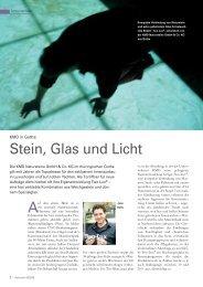 Stein, Glas und Licht - KMD Natursteine GmbH
