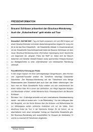 """""""Kutschenfranz"""" geht wieder auf Tour - Radeberger Gruppe KG"""