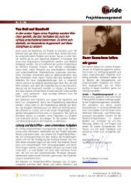 INSIDE PM Nr. 1/2006, Dezember 2006 - bei Ethic Services