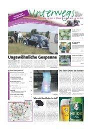 Ungewöhnliche Gespanne - Heidezeitung