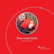 Jahresbericht 2011 Eine runde Sache - Sparkasse