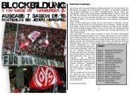 Blockbildung - Rheinhessen on Tour