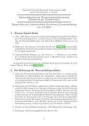 Thomas Kuhn über wissenschaftliche Revolutionen