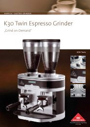 K30 Twin Espresso Grinder - KMS Rast GmbH