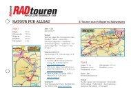 natour pur allgau - Radtouren Magazin