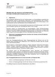 Merkblatt für Kinder mit Wohnsitz im Ausland ab 01.04.2010