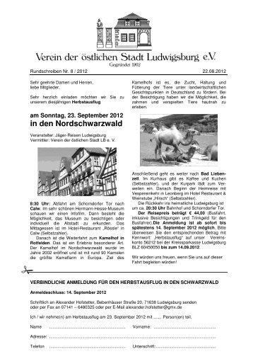RS_2012_8_Herbstausflug Schwarzwald - Oststadtverein
