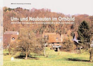Um- und Neubauten im Ortsbild (PDF, 8 MB - Kanton Zürich