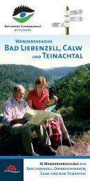 Wanderparadies Bad Liebenzell, Calw und Teinachtal - Stadt Calw