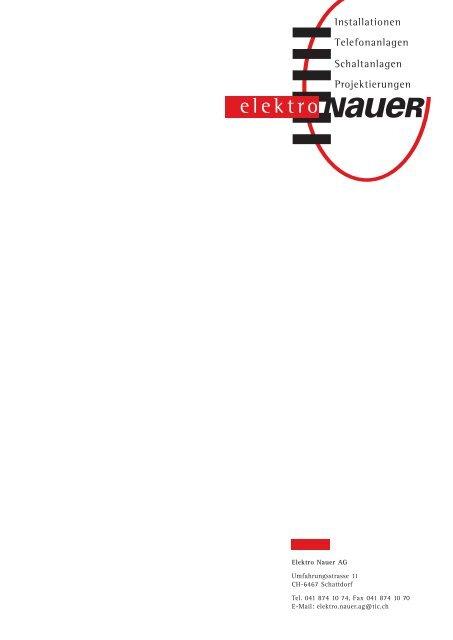 NaueR - Elektro Nauer AG