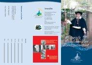 Flyer Historisch kulinarischer Abendspaziergang Otterbach