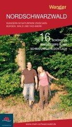 Die 16 schönsten Wandertipps in der Schwarzwaldregion Calw